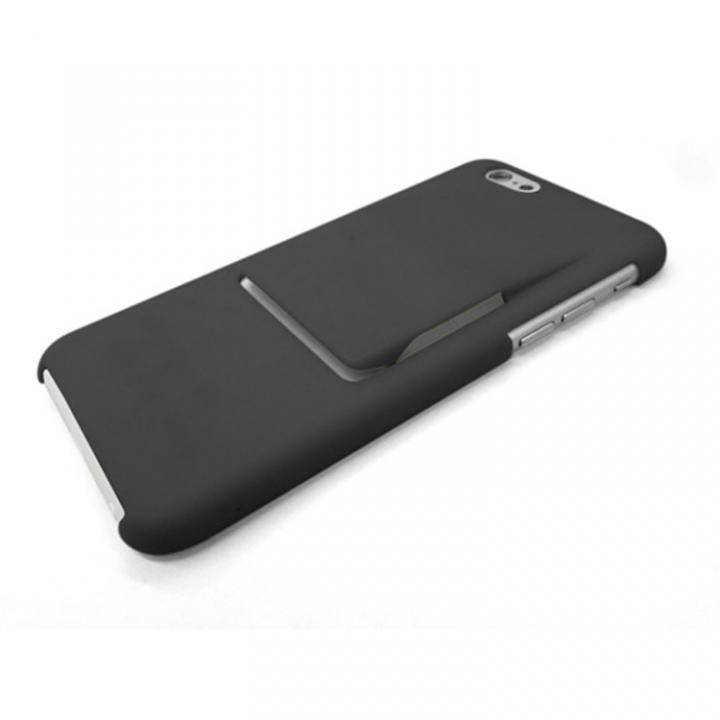 [2017夏フェス特価]ケースとクリップが一体型 mononoff ブラック iPhone 6s/6ケース