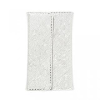 ノートパッド付きの手帳型 mononoff ホワイト iPhone 6s/6ケース