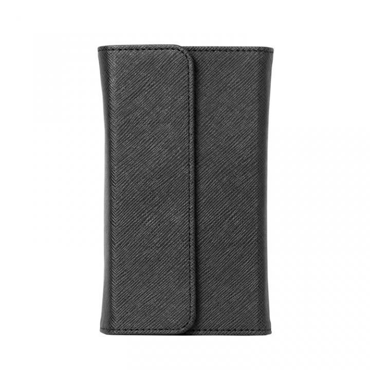 ノートパッド付きの手帳型 mononoff ブラック iPhone 6s/6ケース