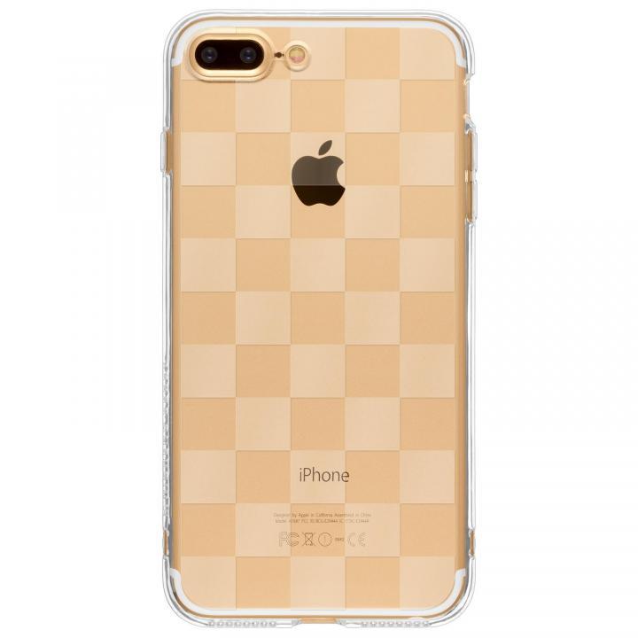 【iPhone7 Plusケース】Highend Berry TPUソフトケース チェッカード iPhone 7 Plus_0
