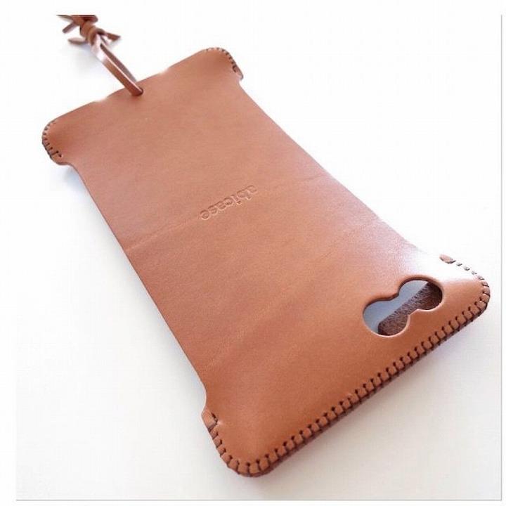 【iPhone6 Plusケース】abicase レザーケース 飴色 iPhone 6s Plus/6 Plusケース_0