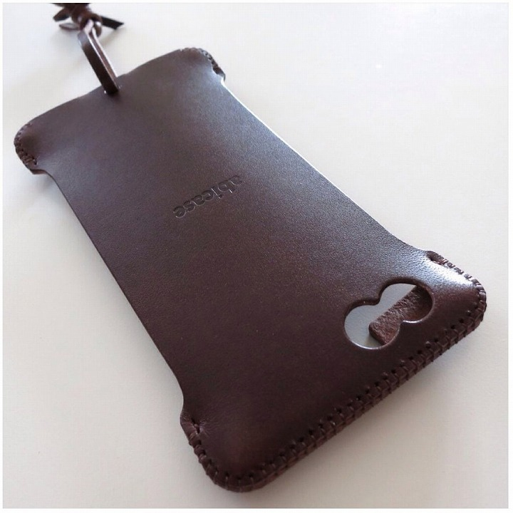 abicase レザーケース チョコ iPhone 6 ケース