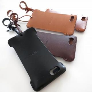 【iPhone6ケース】abicase レザーケース チョコ iPhone 6 ケース_1