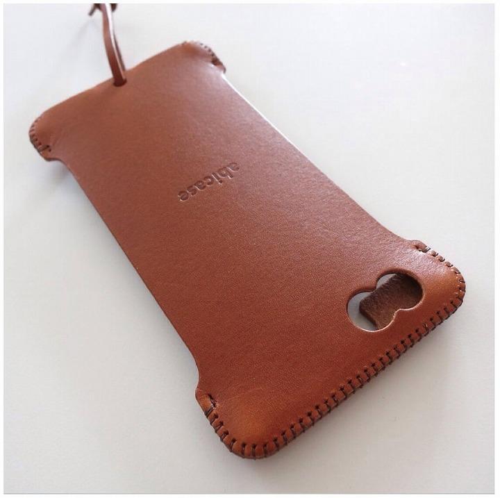 【iPhone6ケース】abicase レザーケース キャメル iPhone 6s/6 ケース_0