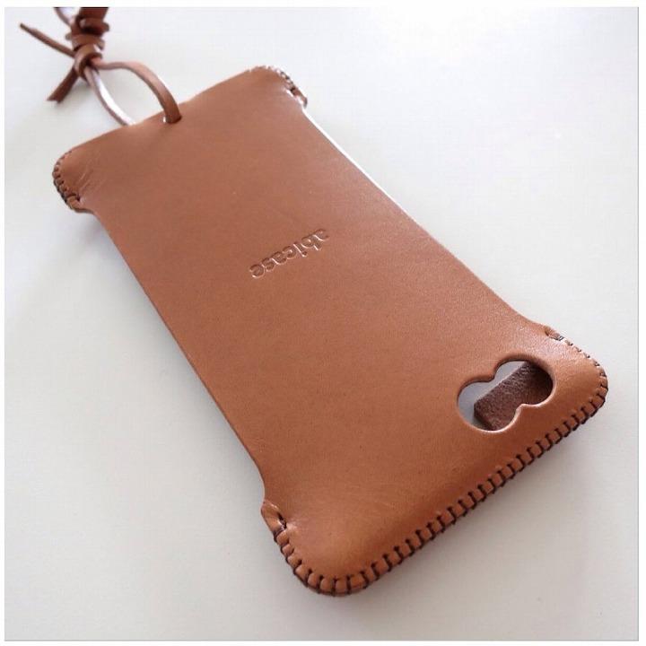 abicase レザーケース 飴色 iPhone 6s/6 ケース