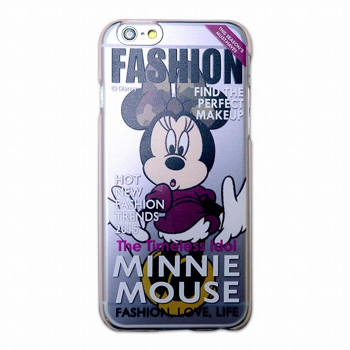 【iPhone6ケース】カスタムハードケース ディズニーマガジンシリーズ ミニー iPhone 6ケース_0