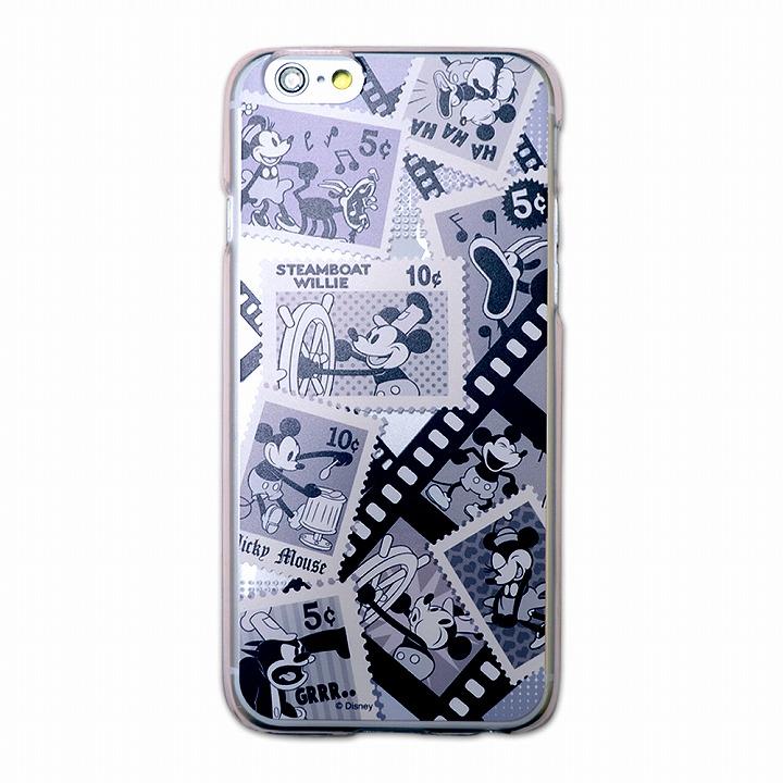 カスタムハードケース ディズニー切手シリーズ ミッキー&ミニーレトロ iPhone 6ケース