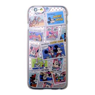 カスタムハードケース ディズニー切手シリーズ ミッキー&ミニーコミック iPhone 6ケース