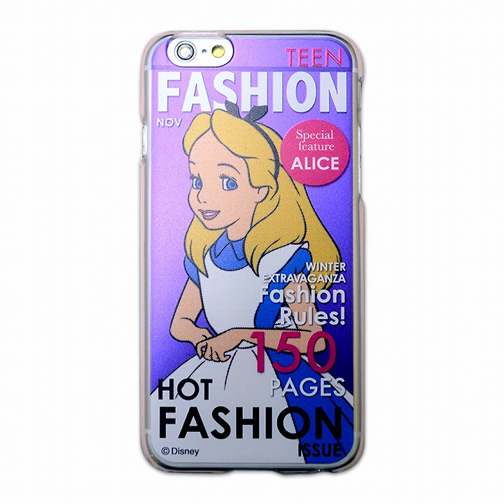 【iPhone6ケース】カスタムハードケース ディズニーマガジンシリーズ アリス iPhone 6ケース_0
