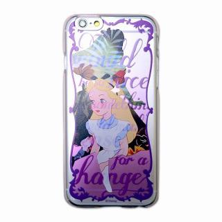 カスタムハードケース ディズニーシルエット アリス iPhone 6ケース