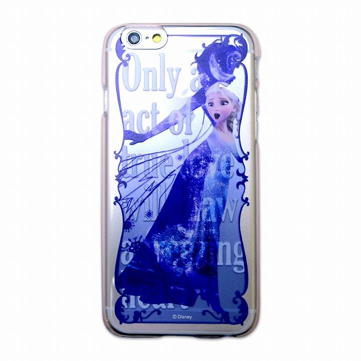 カスタムハードケース ディズニーシルエット エルサ iPhone 6ケース