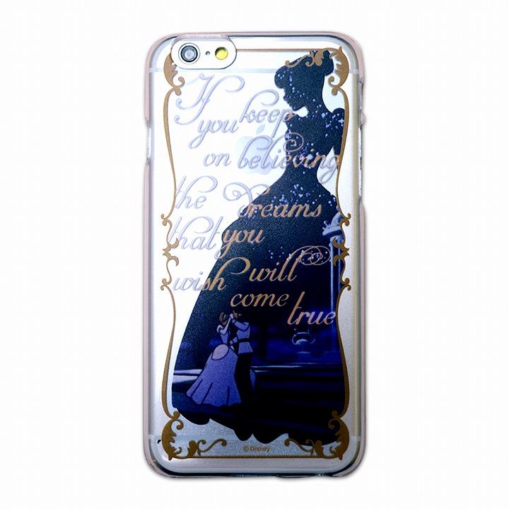 カスタムハードケース ディズニーシルエット シンデレラ iPhone 6ケース