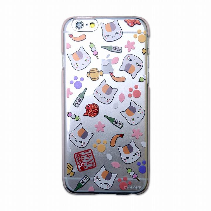 iPhone6 ケース カスタムハードケース ニャンコ先生 総柄 iPhone 6ケース_0