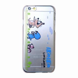 【iPhone6s ケース】カスタムハードケース ぼのぼの進行 iPhone 6s/6ケース