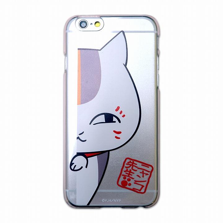 iPhone6 ケース カスタムハードケース ニャンコ先生 壁チラ iPhone 6ケース_0