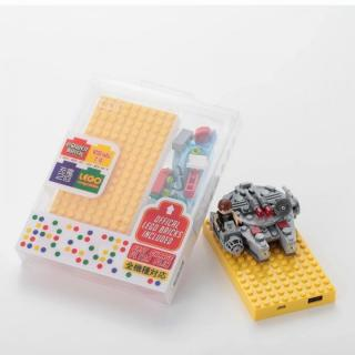 [4,200mAh]レゴ型モバイルバッテリー Power brick イエロー_3