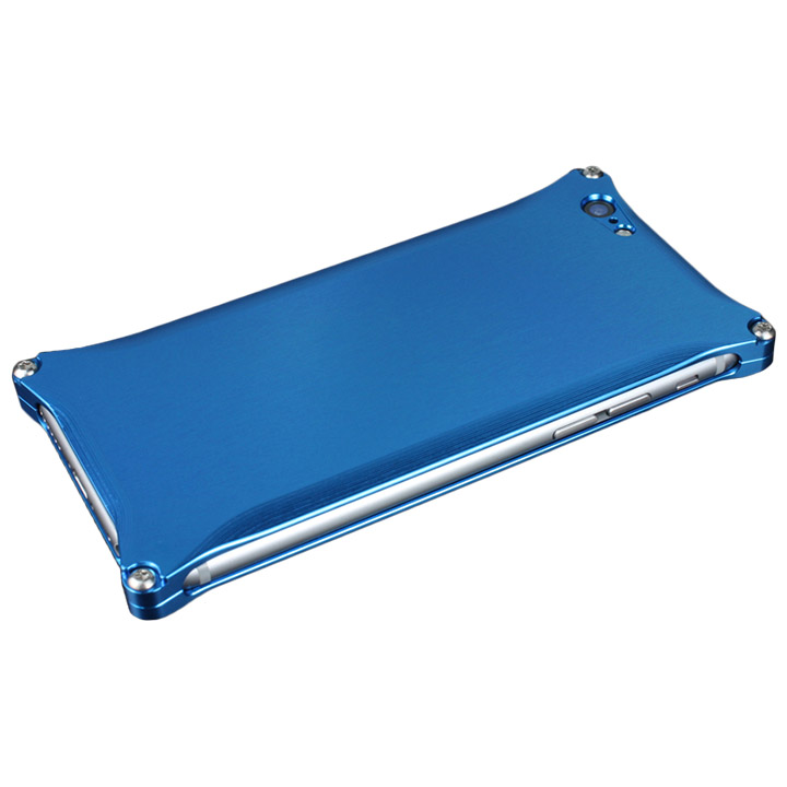 iPhone6 ケース ギルドデザイン ソリッド ブルー iPhone 6s/6_0