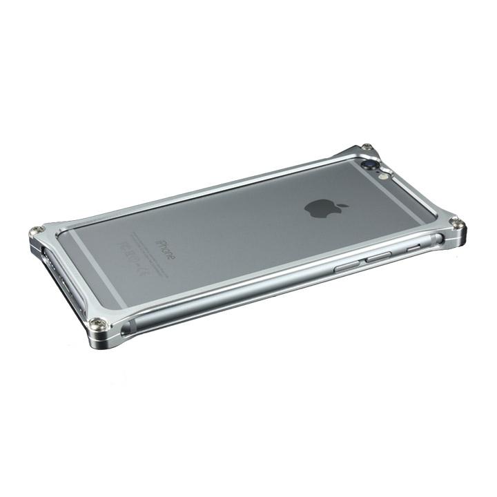 【iPhone6ケース】ギルドデザイン ソリッドバンパー シルバー iPhone 6s/6バンパー_0