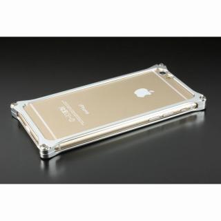 【iPhone6ケース】ギルドデザイン ソリッドバンパー シルバー iPhone 6s/6バンパー_1