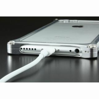 【iPhone6ケース】ギルドデザイン ソリッドバンパー シルバー iPhone 6s/6バンパー_6