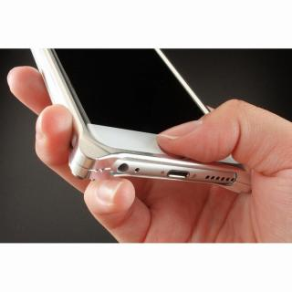 【iPhone6ケース】ギルドデザイン ソリッドバンパー シルバー iPhone 6s/6バンパー_9