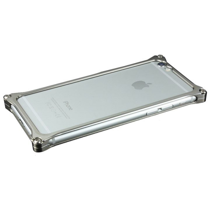 【iPhone6ケース】ギルドデザイン ソリッドバンパー グレイ iPhone 6s/6バンパー_0