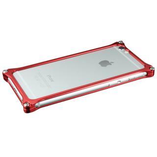 【在庫限り】ギルドデザイン ソリッドバンパー レッド iPhone 6s/6バンパー