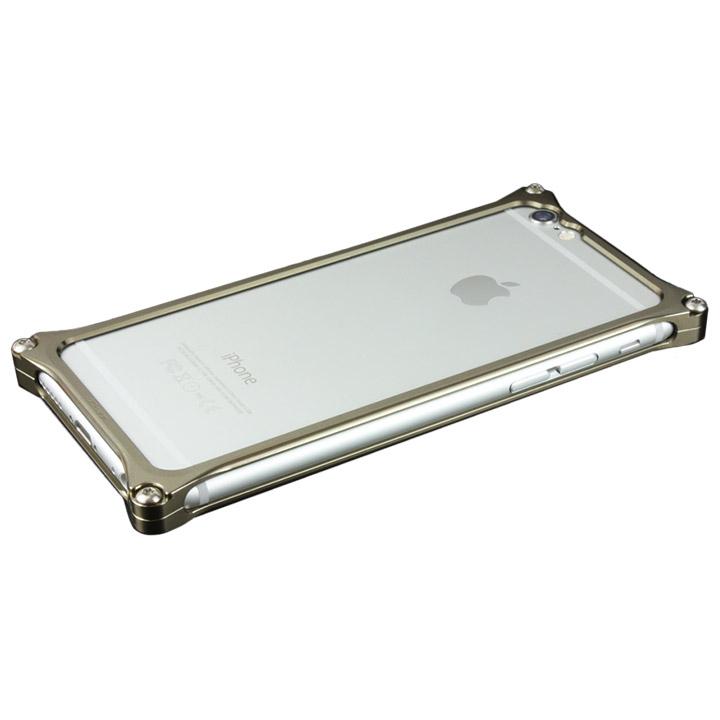 iPhone6 ケース ギルドデザイン ソリッドバンパー チタン iPhone 6s/6バンパー_0