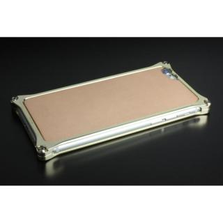 ギルドデザイン レザーパネル ソリッドバンパー対応 ナチュラルタン iPhone 6s/6背面パネル