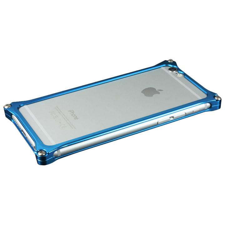iPhone6s/6 ケース ギルドデザイン ソリッドバンパー ブルー iPhone 6s/6バンパー_0