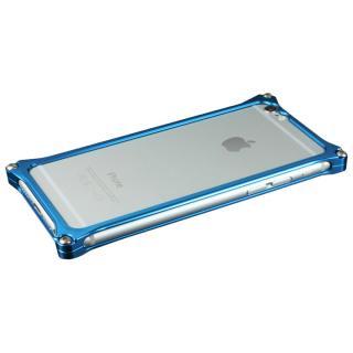 【在庫限り】ギルドデザイン ソリッドバンパー ブルー iPhone 6s/6バンパー