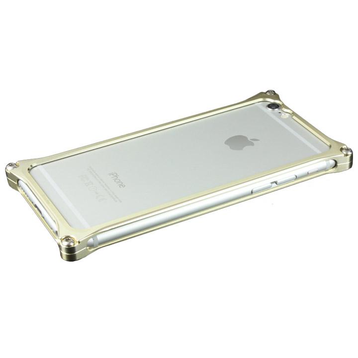 ギルドデザイン ソリッドバンパー シャンパンゴールド iPhone 6s/6バンパー