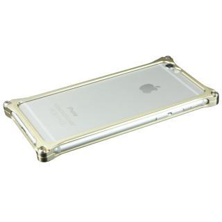[2018新生活応援特価]ギルドデザイン ソリッドバンパー シャンパンゴールド iPhone 6s/6バンパー
