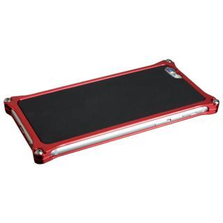ギルドデザイン レザーパネル ソリッドバンパー対応 ブラック iPhone 6s/6背面パネル