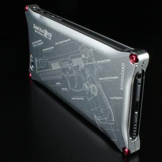 【iPhone6ケース】BIOHAZARD 限定ソリッドケース iPhone 6s/6 サムライエッジ バリーモデル シルバー_1