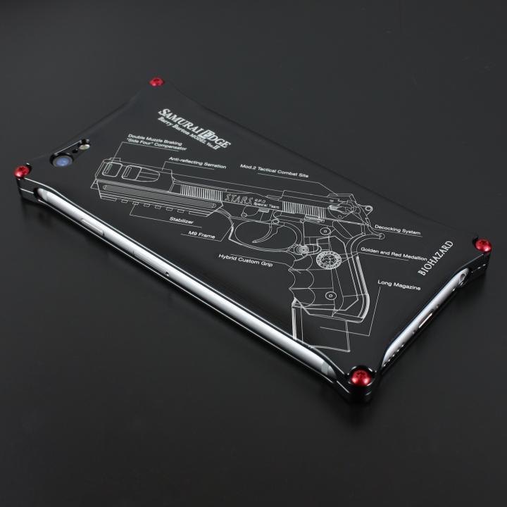 iPhone6 ケース BIOHAZARD 限定ソリッドケース iPhone 6s/6 サムライエッジ バリーモデル ブラック_0