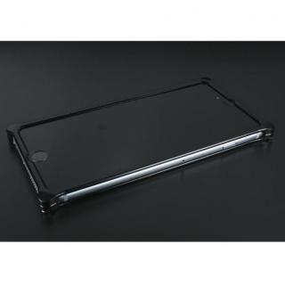 【iPhone6ケース】OKOSHI-KATAGAMI アラベスク ジュラルミン削り出しケース ブラック iPhone 6s/6_1
