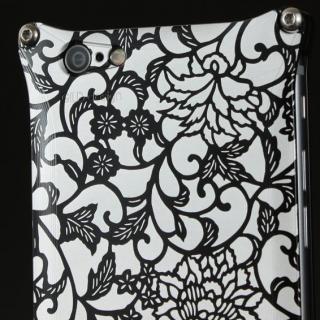 【iPhone6ケース】OKOSHI-KATAGAMI アラベスク ジュラルミン削り出しケース ブラック iPhone 6s/6_2