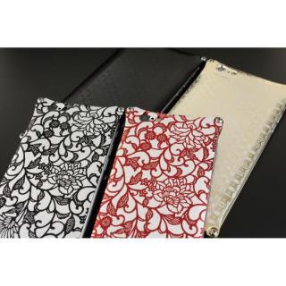 【iPhone6ケース】OKOSHI-KATAGAMI アラベスク ジュラルミン削り出しケース ブラック iPhone 6s/6_3