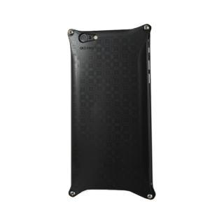 iPhone6 ケース OKOSHI-KATAGAMI 七宝 ジュラルミン削り出しケース ブラック iPhone 6s/6