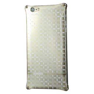 iPhone6 ケース OKOSHI-KATAGAMI 七宝 ジュラルミン削り出しケース ゴールド iPhone 6s/6