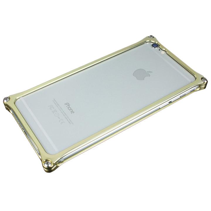 iPhone6s Plus/6 Plus ケース ギルドデザイン ソリッドバンパー ゴールド iPhone 6s Plus/6 Plus_0