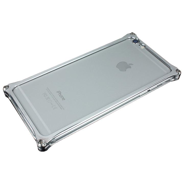 ギルドデザイン ソリッドバンパー シルバー iPhone 6s Plus/6 Plus