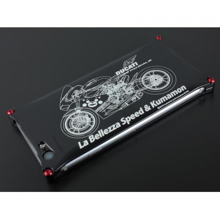 【iPhone6 Plusケース】くまモン×ラ・ベレッツァ×ギルドデザインコラボケース バイクモデル iPhone 6s Plus/6 Plus_0