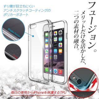 【iPhone6ケース】クリアな透明感あふれるケース Ringke Fusion ブラック iPhone 6ケース_5