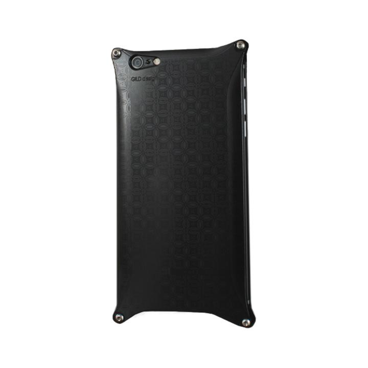 【iPhone6s Plus/6 Plusケース】OKOSHI-KATAGAMI 七宝 ジュラルミン削り出しケース ブラック iPhone 6s Plus/6 Plus_0