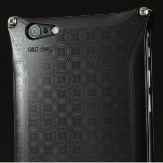 【iPhone6s Plus/6 Plusケース】OKOSHI-KATAGAMI 七宝 ジュラルミン削り出しケース ブラック iPhone 6s Plus/6 Plus_2