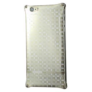 iPhone6s Plus/6 Plus ケース OKOSHI-KATAGAMI 七宝 ジュラルミン削り出しケース ゴールド iPhone 6s Plus/6 Plus