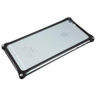 [2017夏フェス特価]ギルドデザイン ソリッドバンパー ブラック iPhone 6s Plus/6 Plus
