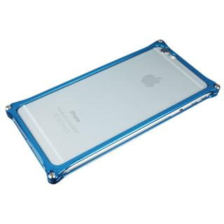 ギルドデザイン ソリッドバンパー ブルー iPhone 6s Plus/6 Plus